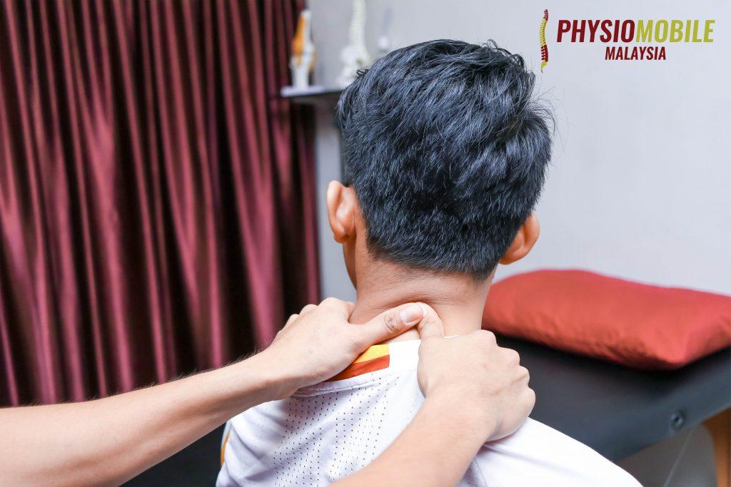 rawatan sakit leher