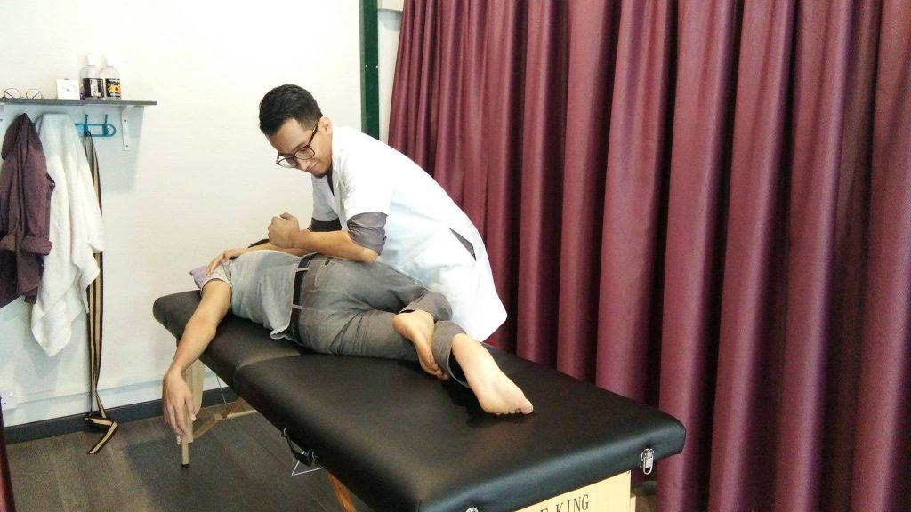 rawatan sakit belakang